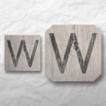 Letters - Light Wood 1