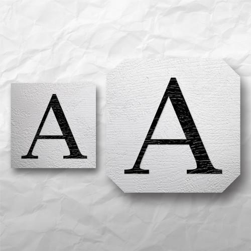Letters - Light Wood 2