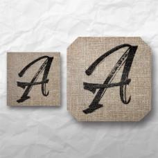 Letters - Linen Texture 1