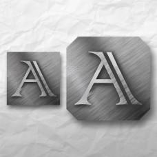 Letters - Metal 1
