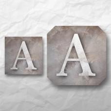 Letters - Neutral Texture 1