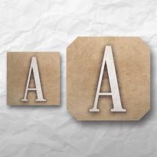 Letters - Neutral Texture 2