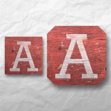 Letters - Weathered Red Wood 1