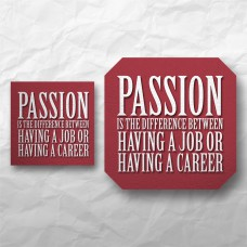 Quote - Passion is the difference between...
